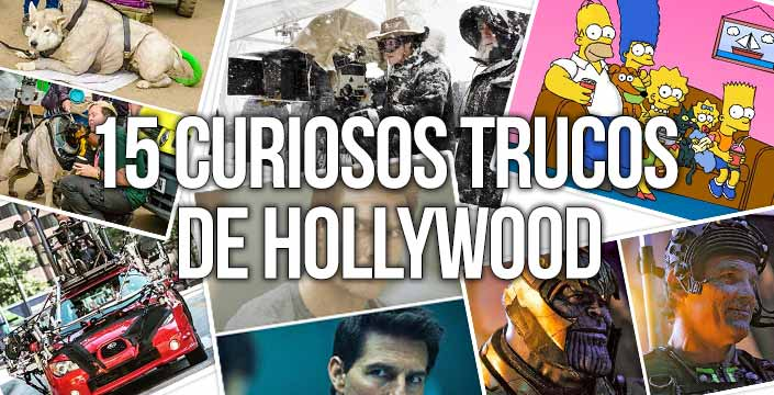 trucoscine - 15 Curiosos trucos de Hollywood
