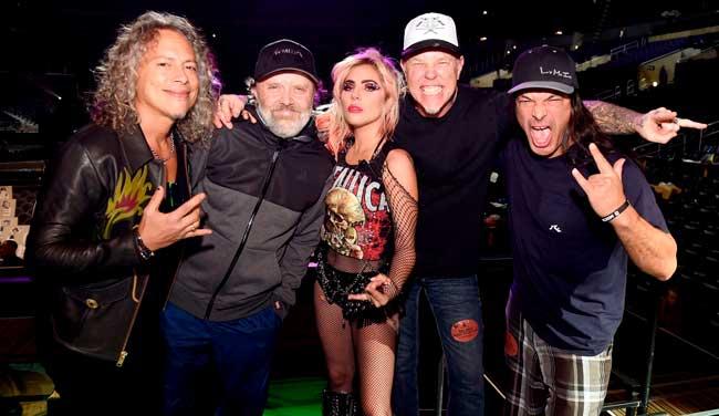 Así debería haber sonado la actuación de Metallica junto a Lady Gaga en los premios Grammy 2017