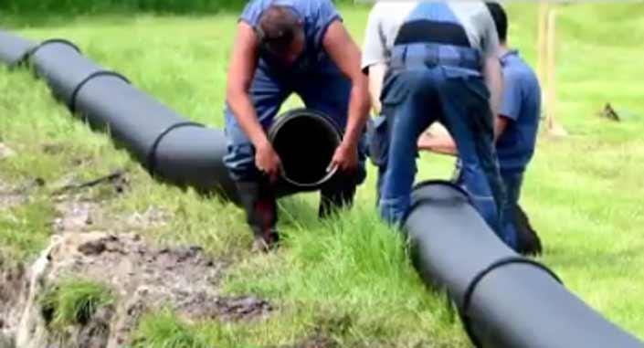 Construyen una tubería de 4 km para llevar cerveza a un festival de Heavy Metal en Alemania