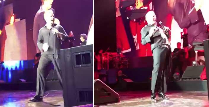 Luis Miguel ereccion concierto san diego