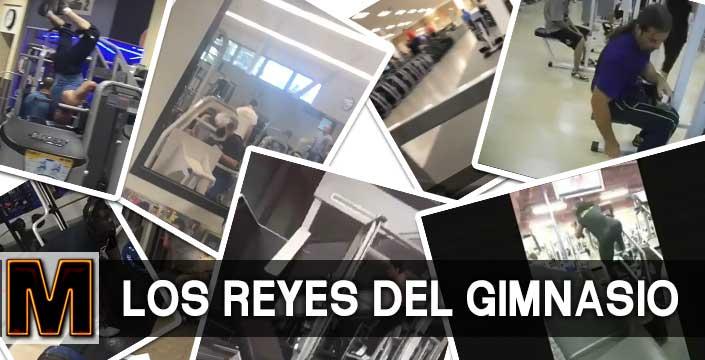 Videos de risa en los gimnasios... Los reyes de las pesas