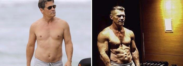 El increible cambio físico de Josh Brolin para hacer de Cable en Deadpool 2