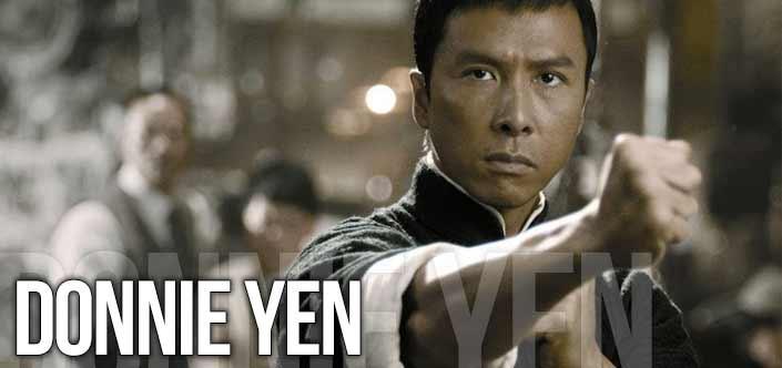 El entrenamiento de Donnie Yen
